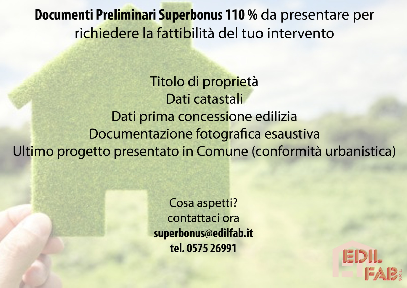 ecobonus 110% ad Arezzo e in Toscana
